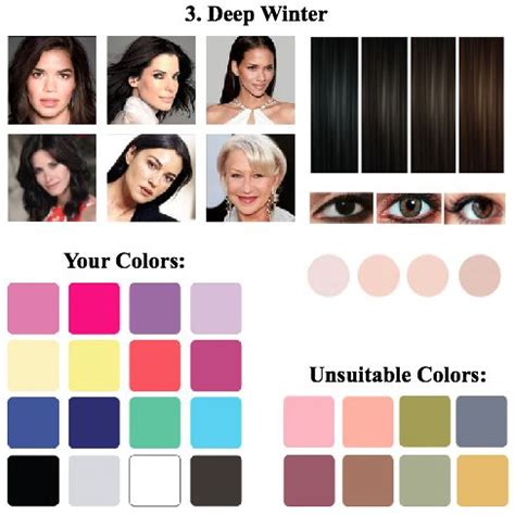 Best Hair Color For Deep Winters | 534 best images about colors