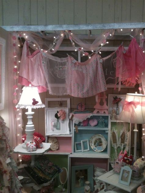 shabby chic booth booth ideas pinterest