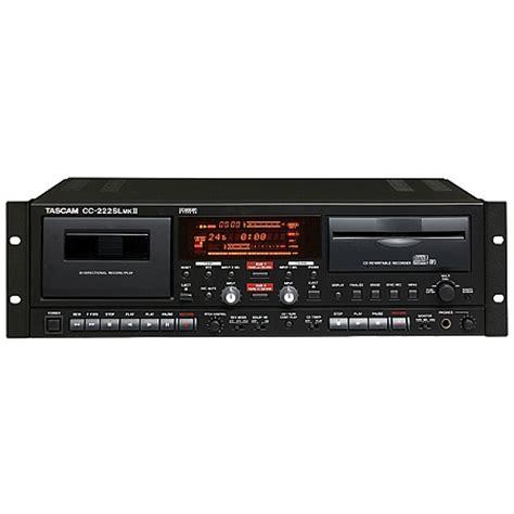 cd cassette recorder tascam cc 222slmkii professional cd recorder cassette deck