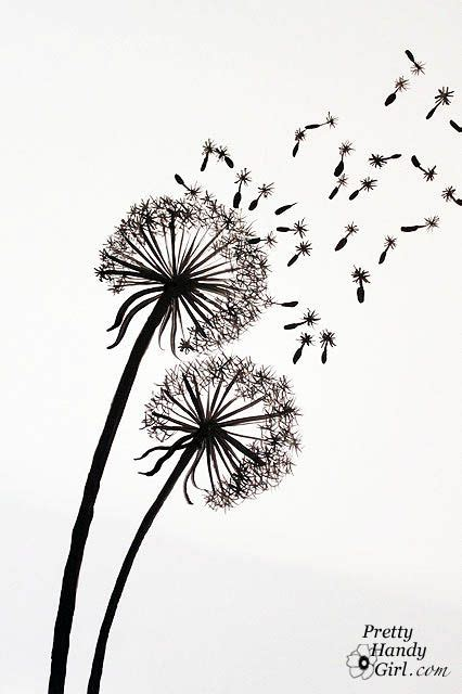 tutorial for painting dandelion wall graphic i m gonna need this for the kids bathroom