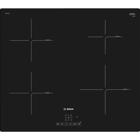 bosch piano cottura induzione bosch pue611bb1e piano cottura a induzione 60 cm 4 zone