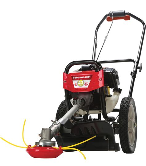 southland 43cc wheeled string trimmer mower modern