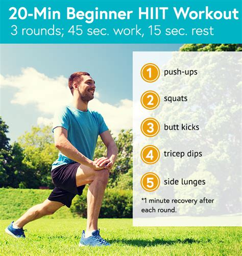 3 hiit workouts for beginners by dailyburn