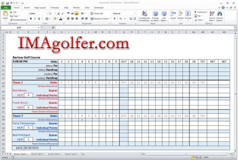 golf league excel spreadsheet qualads