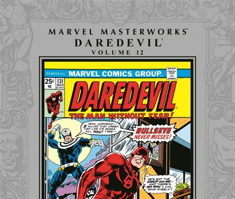 marvel masterworks daredevil vol 12 hardcover comic