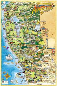 california map with tourist attractions map of california attractions deboomfotografie