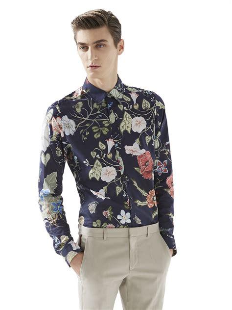 Hoodie Laboratories Biru Navy Noval Clothing gucci flora print shirt in blue for navy multi lyst