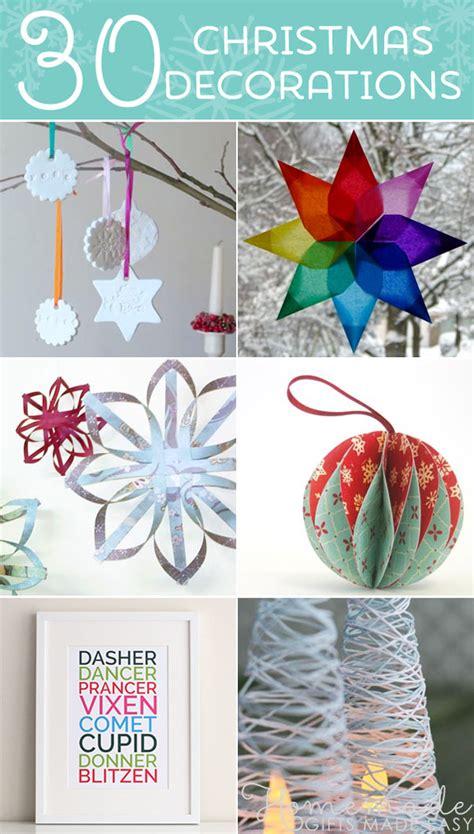 beautiful diy homemade christmas ornaments
