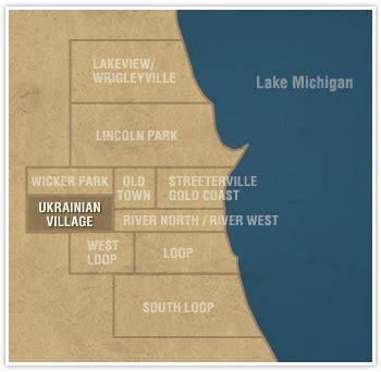 ukrainian chicago map chicago luxury real estate ukrainian