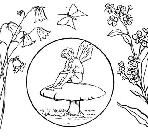 coloring pages of boy fairies 89 best sewing and crafts images on pinterest