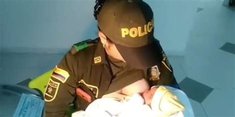 aumento salarial policia nacional colombia 2016 press report colombian police officer saves abandoned baby s life by
