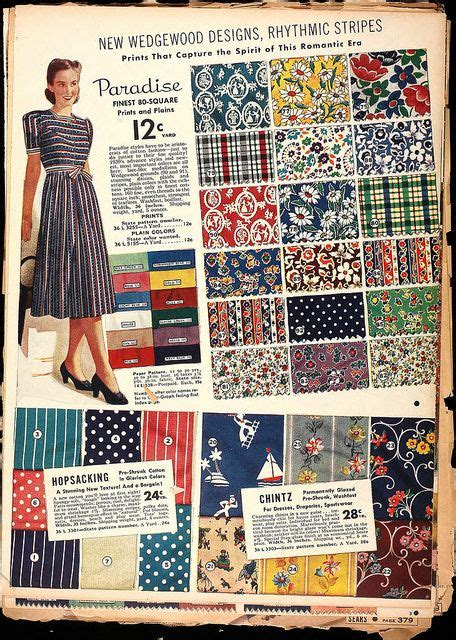 fabric pattern history 17 best images about 1930s vintage fabric designs on