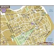 Map Of Brindisi