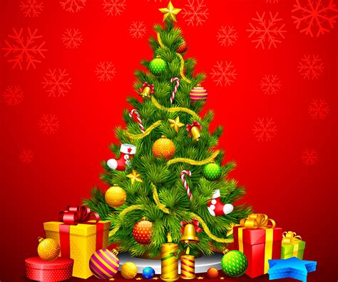 2015 christmas tree desktop background wallpaper images