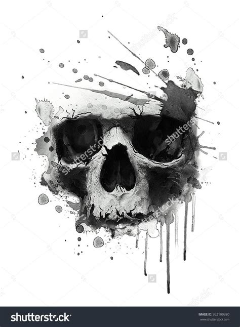 black skull tattoo designs best 25 evil skull ideas on skull