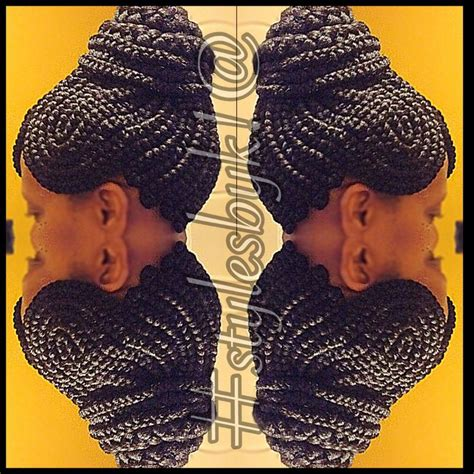 close together braids close together braid updo using xpressions braiding hair