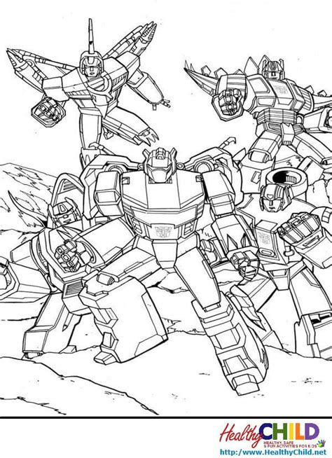 Coloring Pages Transformers by Dinobot Transformer Free Coloring Pages