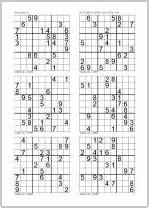 sudoku printable a4 printable sudoku printable easy sudoku puzzles