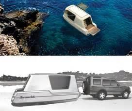 Four Lights Houses Aquatic Caravan Floating Travel Trailer Water Ready Rv