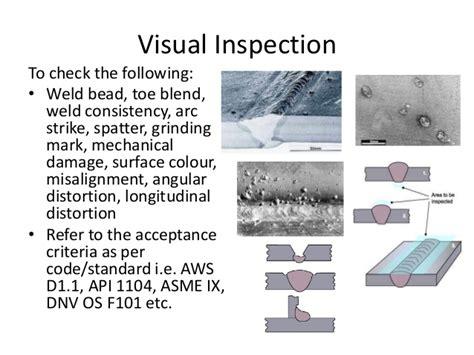 Welding Inspection Ori 1 Offshore Qc Welding Inspection Versi 1