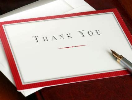 Thank You Cards For Clients Sles