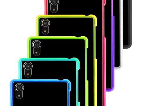 Sony Xperia C Soft Casing Cover Bumper Sarung Armor Transparant sony xperia z2 soft with fluorescent bumper