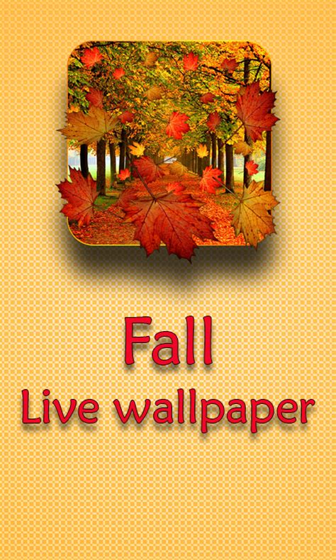 Fall Live Wallpaper Android by Fall Live Wallpaper Android Apps On Play