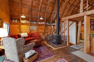 Barn House Interior by Old Dairy Barn Converted Into An Eco Home Filled With
