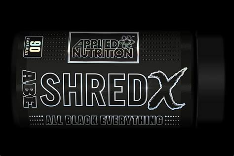 shred x supplement applied launches its new high caffeine burner shred x