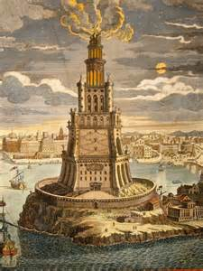 the lighthouse of alexandria was one of the premier