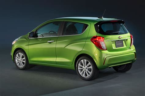 2016 chevrolet spark rear three quarter 02 photo 4