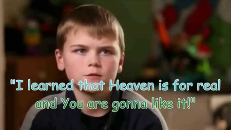 heaven is for real book report heaven is for real colton burpo boy visits heaven