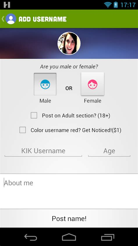 Find Peoples Kik Usernames Kff Username Finder For Kik Android Apps On Play