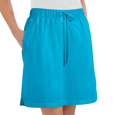knit skorts womens drawstring knit skort plus size by collections