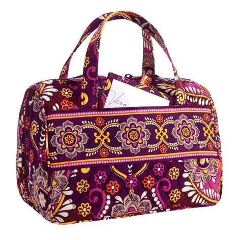 Dijamin Pocket Bag Bath And Works Sunset vera bradley lunch date in safari sunset travel cosmetic insulated tote retired nwt