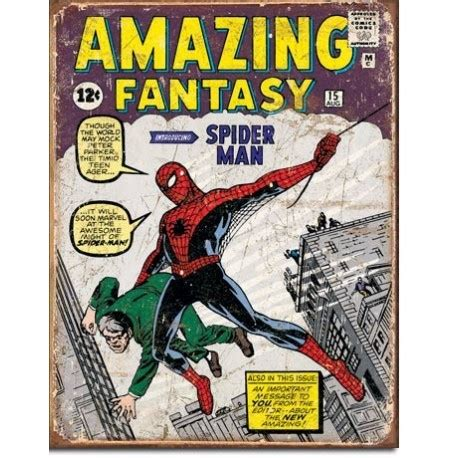 caution spider in baggie in freezer a comic novel about finding resolve in middle age and courage in the middle ages books marvel comics spider comic book cover metal sign