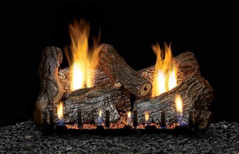 empire 18 quot sassafras refractory ventless propane gas log