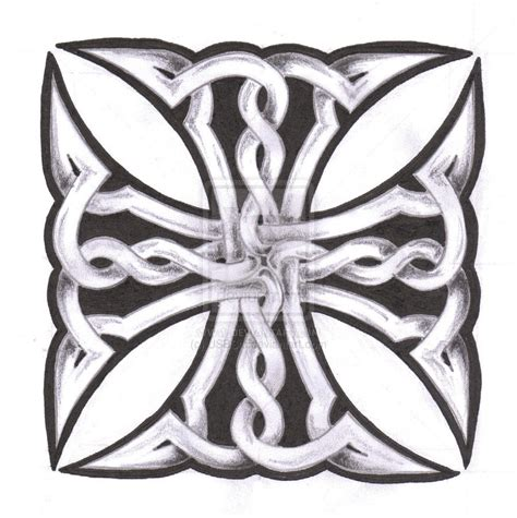 celtic maltese cross tattoos celtic maltese cross by usbstu on deviantart