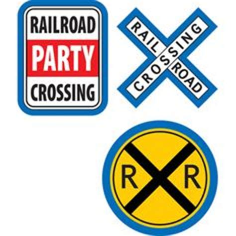 printable railroad signs 1000 images about party boy train theme on pinterest