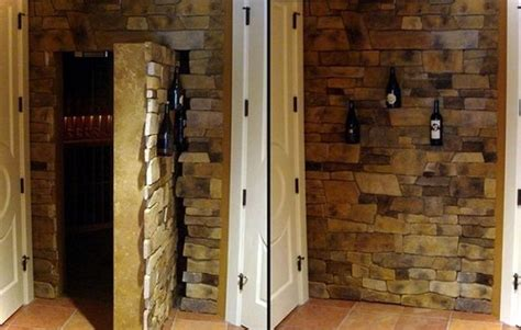 Wine Cellar Stairs - 13 awesome ideas to make secret door to a room home decor buzz