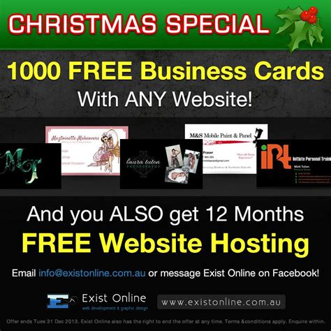 free card websites special 1000 free business cards web hosting