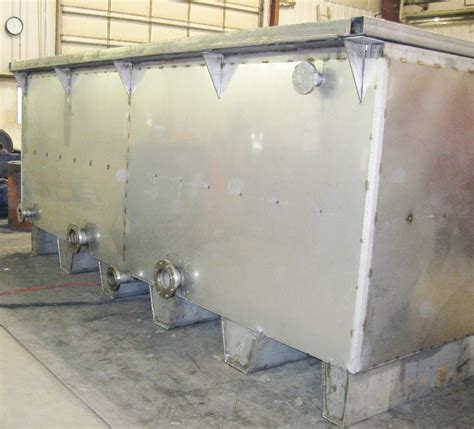 Stainless Steel Storage Tanks Stafco Metal Fabricating Equipment Storage And Processing