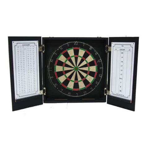 nasbar dart board cabinet black