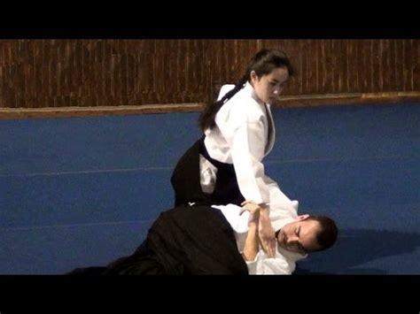 Iriminage Hiroshi Ikeda aikido okamoto yoko sensei berlin 2015 part 3 funnydog tv