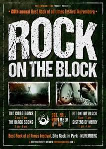 Rock Flyer Template rock festival flyer template tds