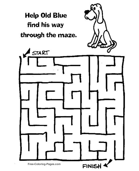 printable cheetah maze free mazes printable trials ireland