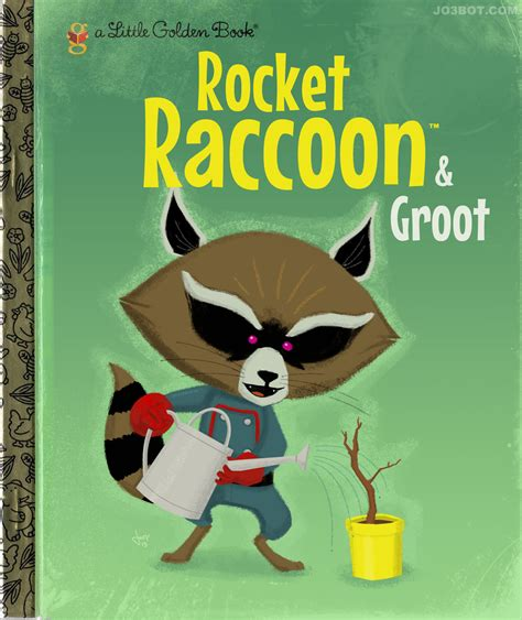 impact books rocket and groot fan impact books