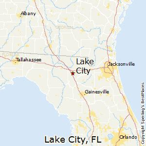 map of lake city florida best places to live in lake city florida