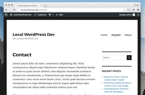 javascript wordpress themes how to integrate smoothstate js into a wordpress theme