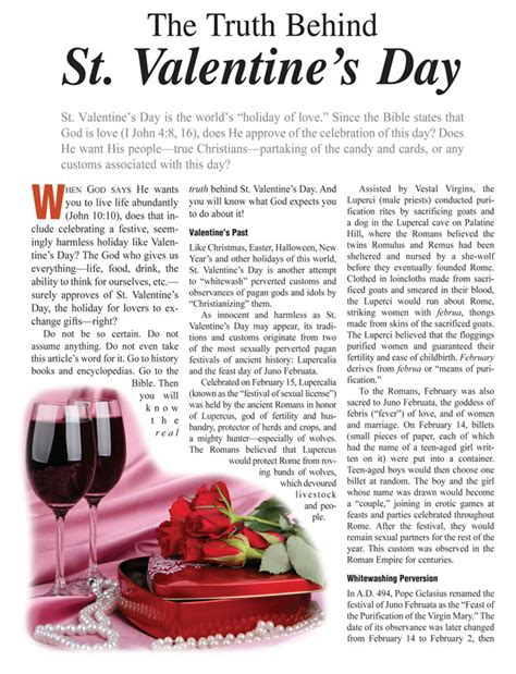 the true meaning of valentines day the about valentine s day and other holidays part 1